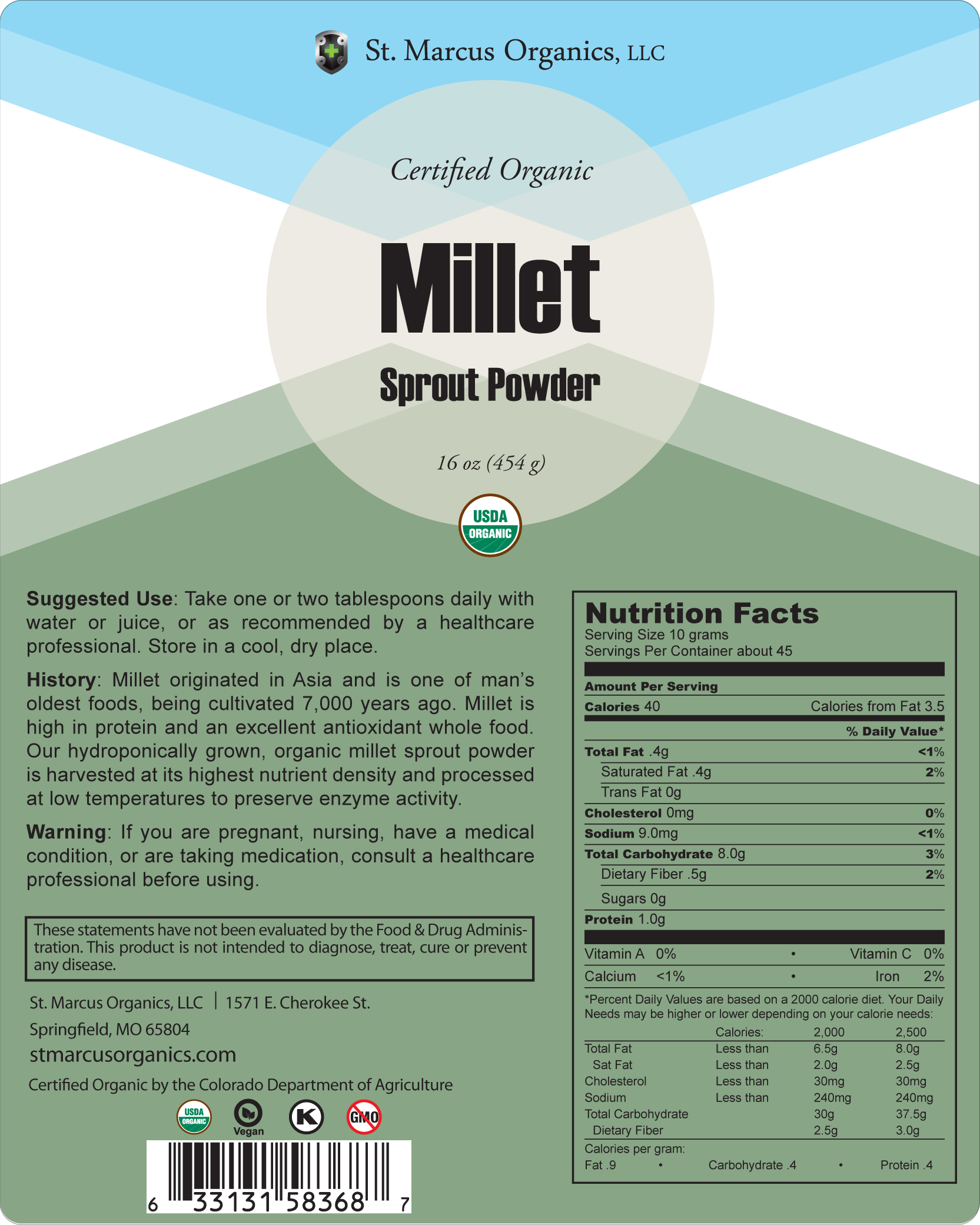Millet-Sprout-Powder-Bag-St-Marcus-Organics